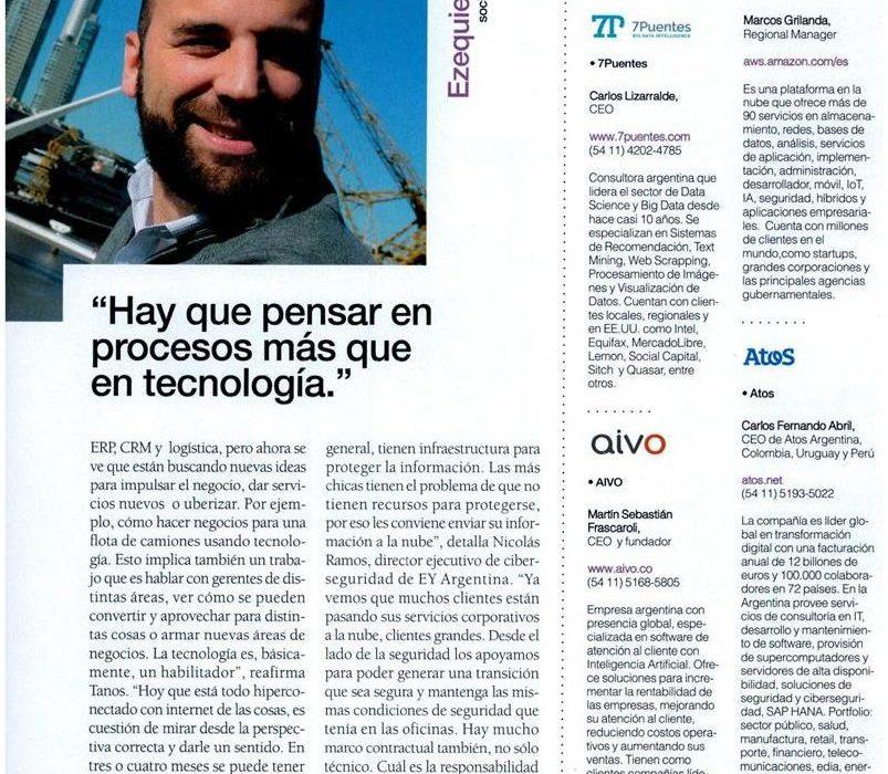 @Revista Information Technology: Consultoras recalculando